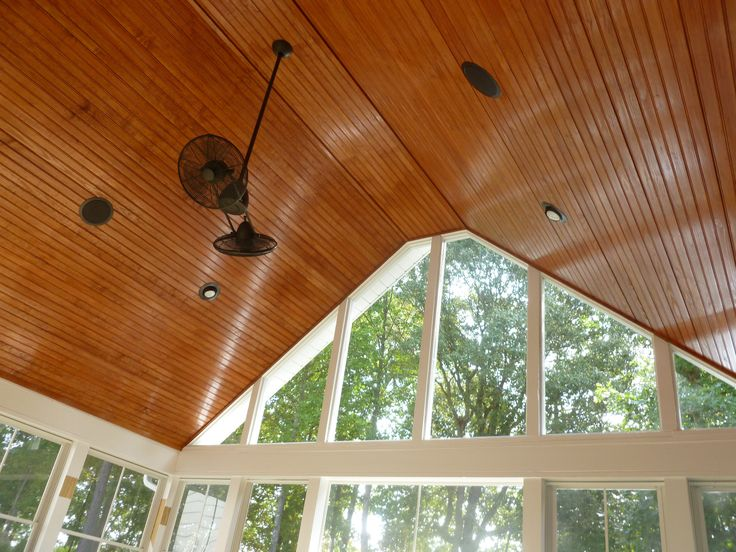 Tongue And Groove Patio Ceiling   Pin By Kendra Barnes Noblet On Screened  Porch Pinterest