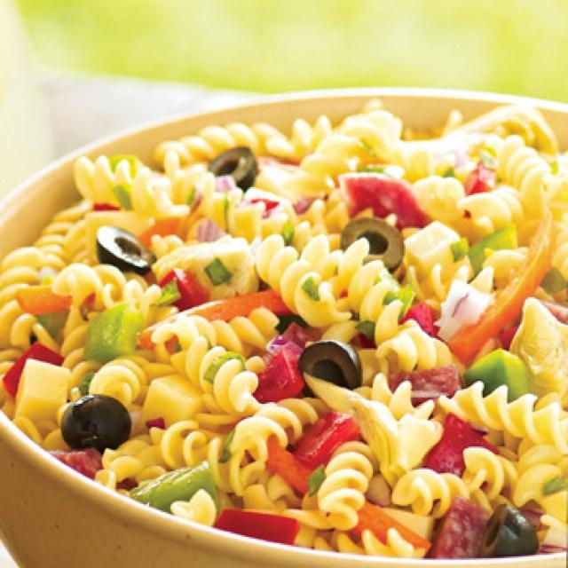 pasta salad | Yummy!! | Pinterest