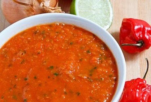 Habanero Salsa | Nom | Pinterest