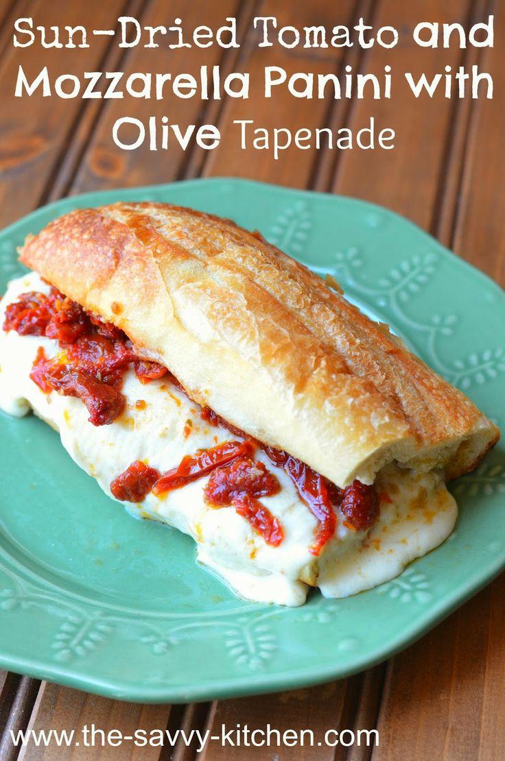 ... Kitchen: Sun-Dried Tomato and Mozzarella Panini with Olive Tapenade