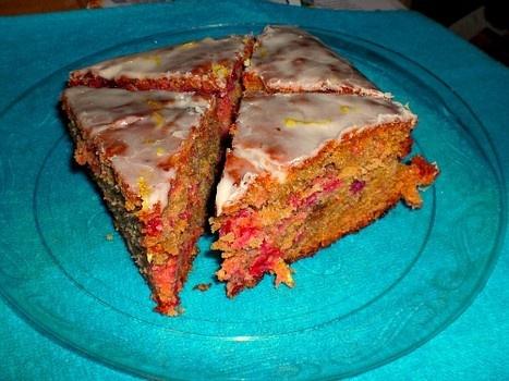 Glazed Cranberry-Lemon Cake Recipes — Dishmaps