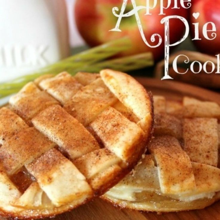 Apple Pie Cookies- just made them and they're pretty tasty!