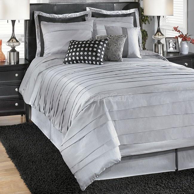 Best Lilith Silver Bedding Set Guest Bedroom Pinterest 400 x 300