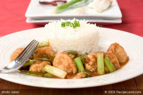 10 Minute Sichuan/Szechuan Chicken