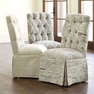 Camille Tufted Chair 2 Of The Indochine Ikat Stone Chairs For The