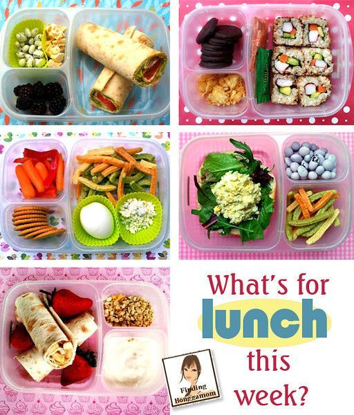 yummy lunch ideas with easylunchboxes easy lunch box