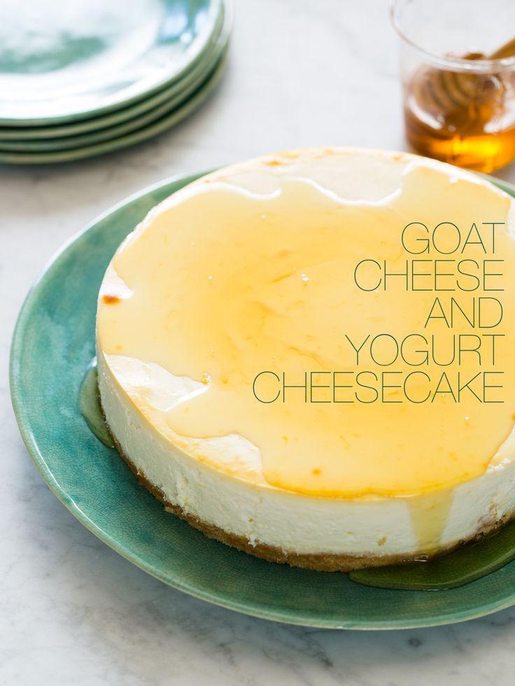 Goat Cheese and #Yogurt Cheesecake | Sweet Tooth | Pinterest