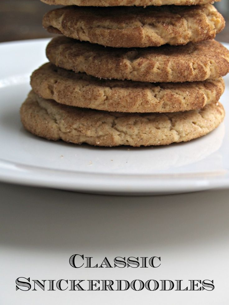 The best Snickerdoodles EVER via @Laura Jayson Beaver
