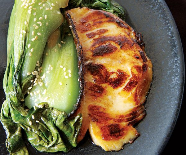 Fine Cooking's Miso-Glazed Cod - Requires miren, a Japanese rice wine ...