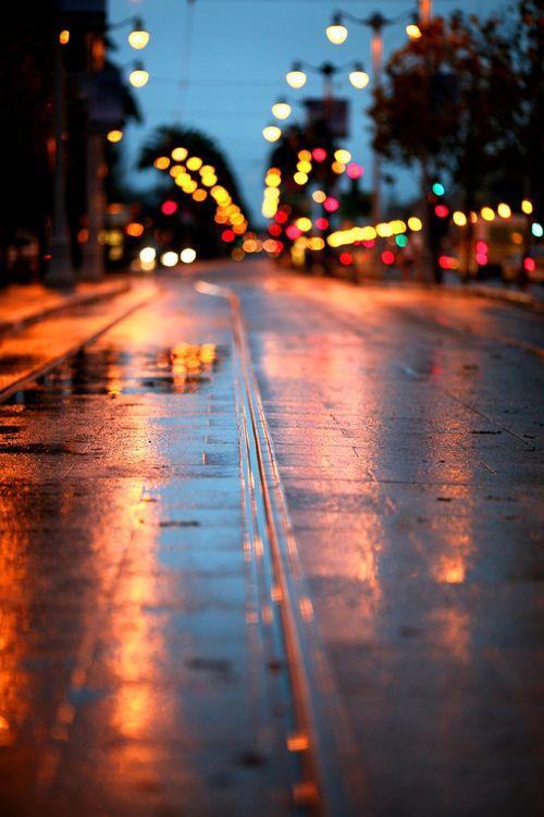 City light blur... | *picture perfect* | Pinterest