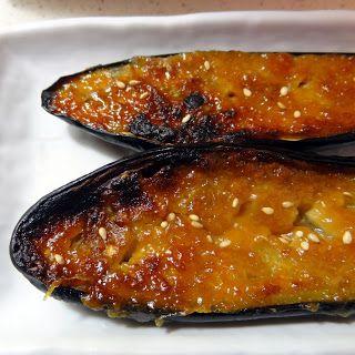 Nasu Dengaku (miso glazed eggplant) | food - Get in My Tummy | Pinter ...