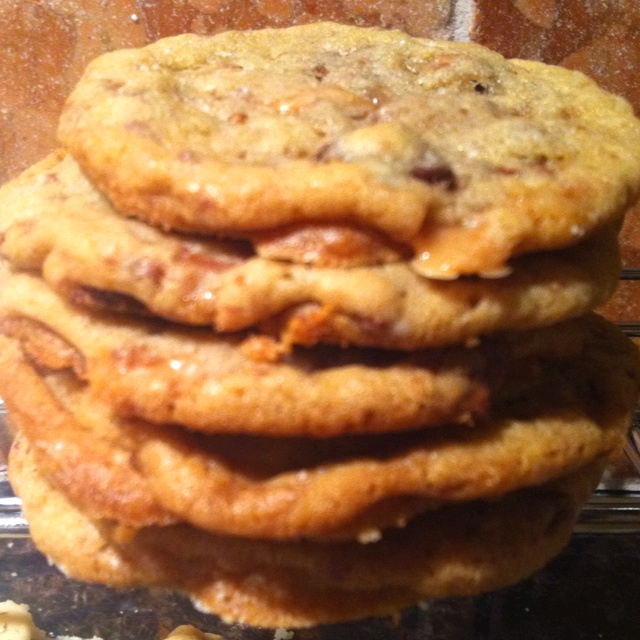 Heath Bar Cookies | Sweets for my sweets | Pinterest