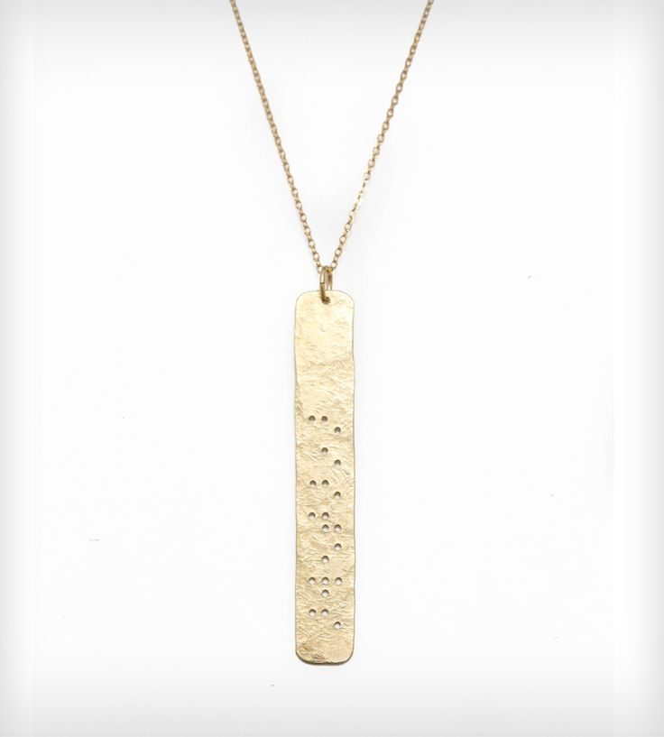 headphones for sale Sisters Braille Pendant Necklace