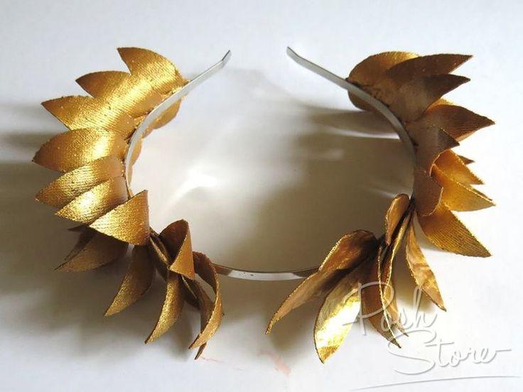 Лавровый венок своими руками из бумаги шаблоны