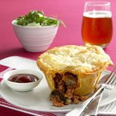 Beef, Red Wine and Mushroom Pies | Savoury Pies, Tarts, Quiches and F ...