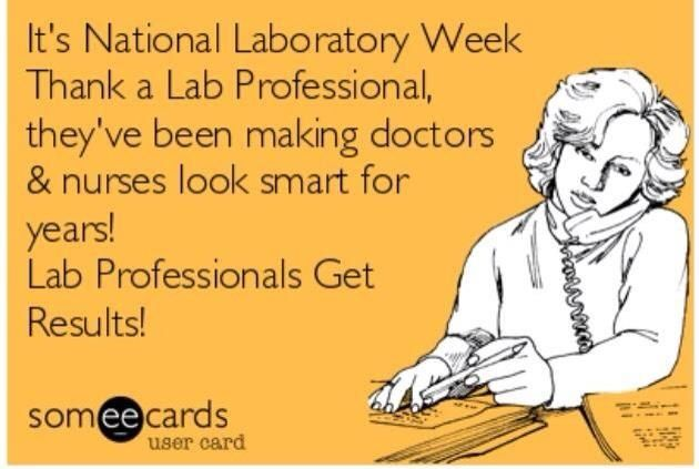 National Medical Lab Week Poster  National Lab Week TShirt By