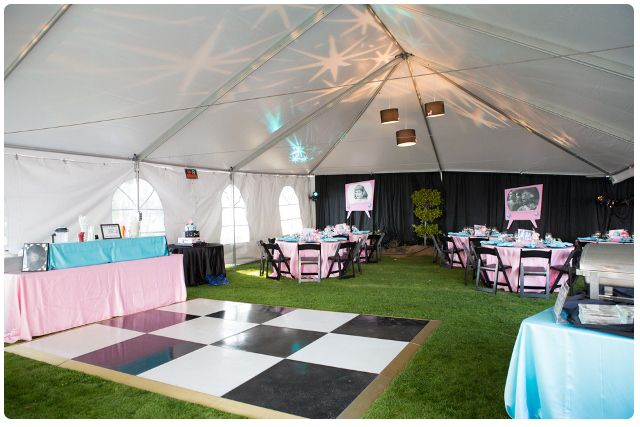 Tent Option in Sonoma County 5039;s theme party Photos by Mallory Miya
