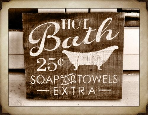 Cute Sign For Bathroom Signs Pinterest