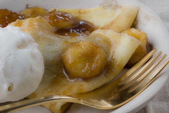 Bananas Foster Crêpes - I heard Brenan's is now closed; So tragic, we ...