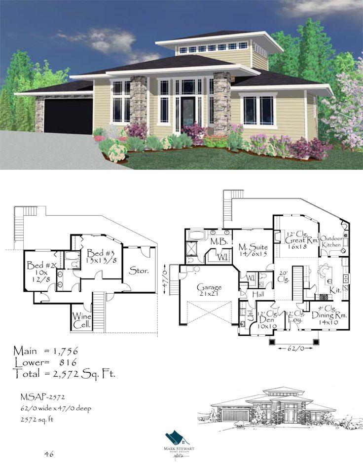 mark stewart home design plan msap 2572 home plans