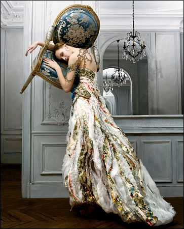 beats by dr dre headphones Christian Lacroix gown  My Style