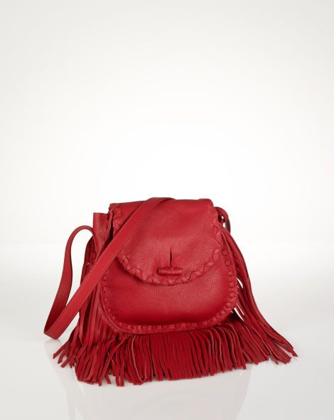Small Fringed Cross-Body Bag - Polo Ralph Lauren Polo Ralph Lauren - RalphLauren.com
