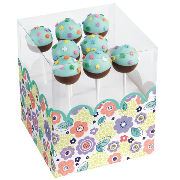 boxes for cake pops