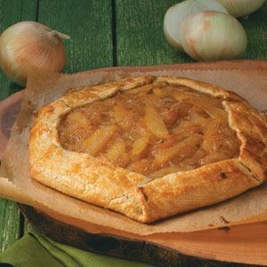 Rustic Fig, Onion & Pear Tart | Recipe