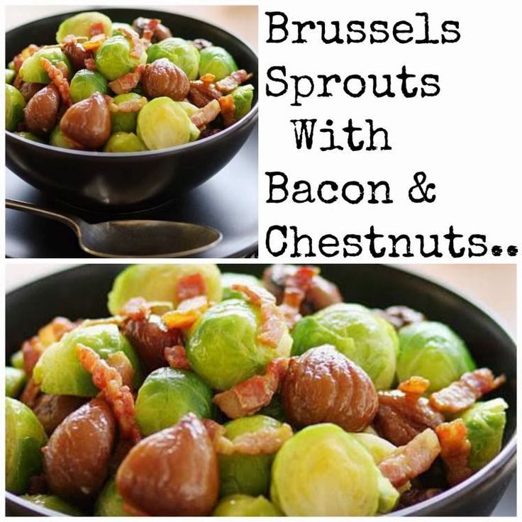 ... Style Blog | Nottingham: Brussels Sprouts with Bacon & Chestnuts