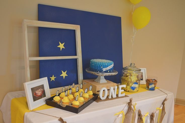 """On the Night You Were Born"" Inspired 1st Birthday by kellibcross #dessertstation"