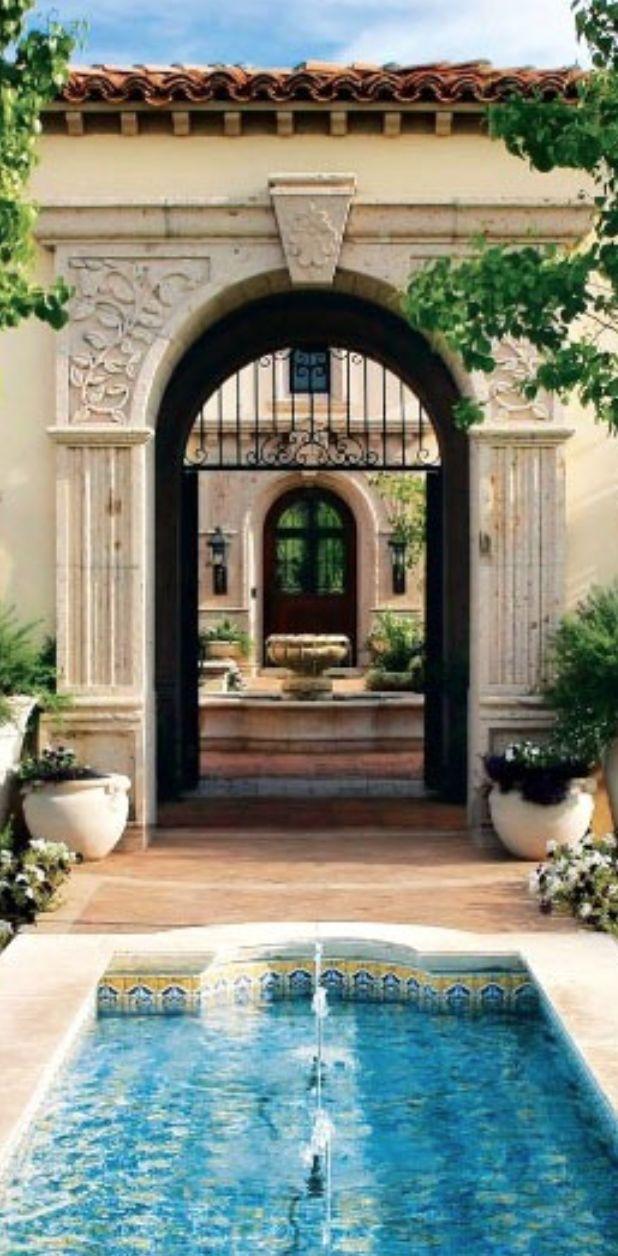 California luxe italian villa homes on pinterest for Tuscan california