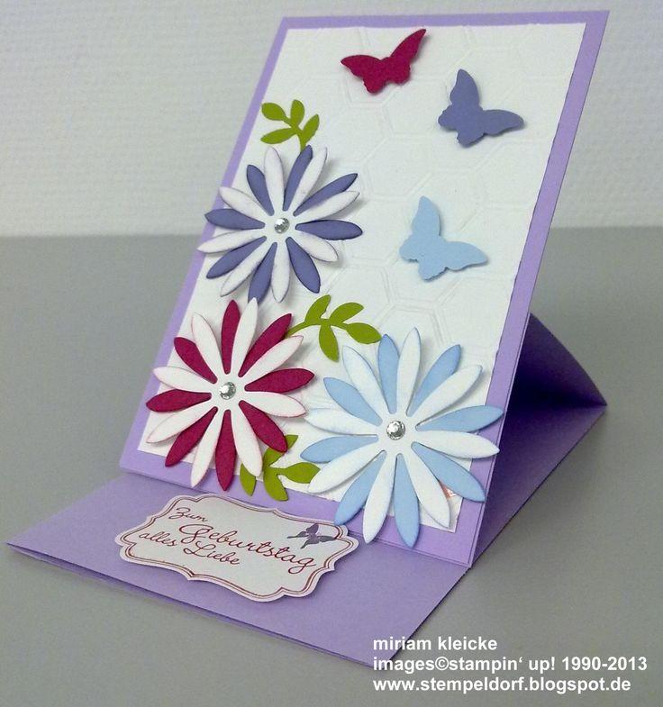 Birthday card stampin up yvette pinterest