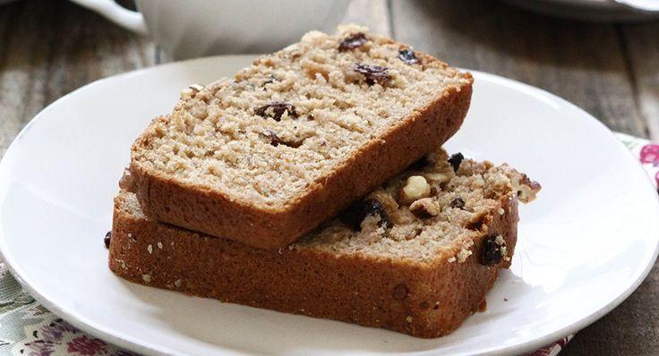 Cinnamon Applesauce Bread | Recipe