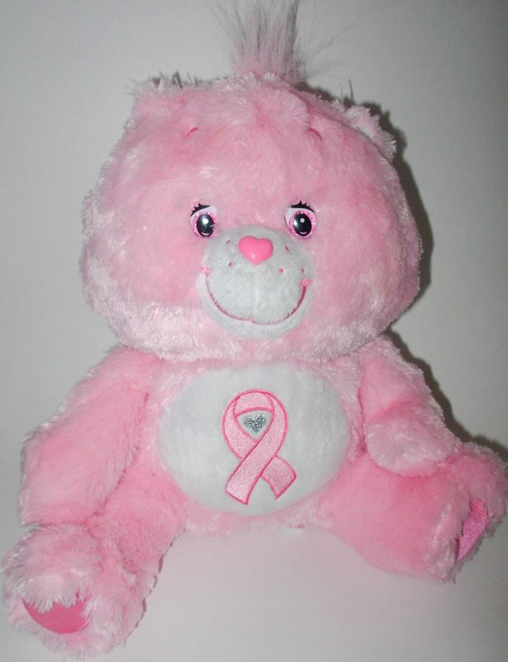 Pink Power Care Bear Pink power care bear breastPink Power Care Bear