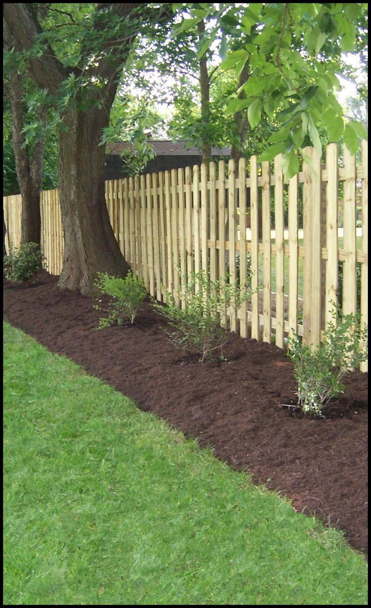 25 brilliant landscape along fence line - Garden ideas along fence line ...