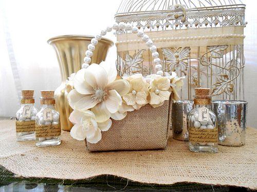 Flower Girl Baskets Pinterest : Flower girl basket diy lizzy s wedding