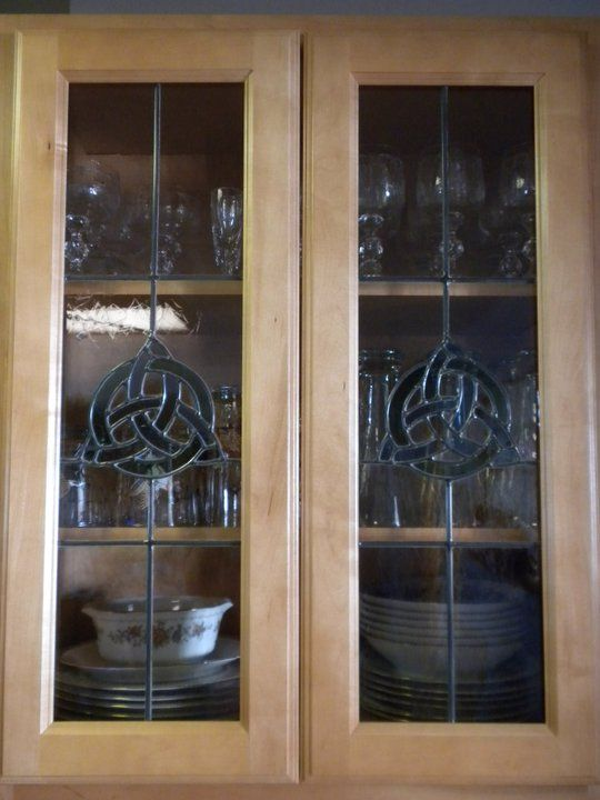 Stained glass cabinet door inserts stained glass cabinet for Glass cabinet door inserts