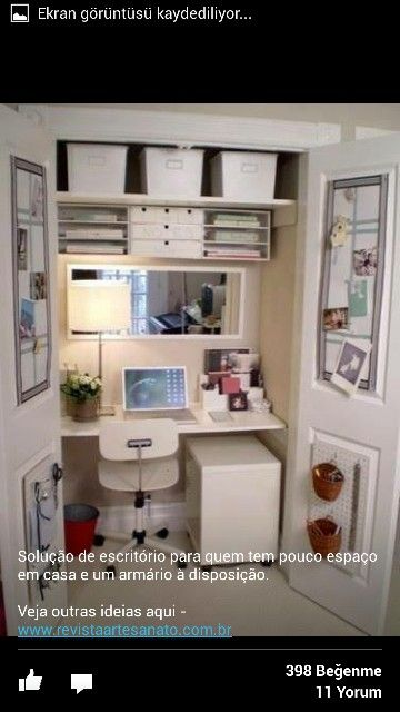 Small Home Office Spaces