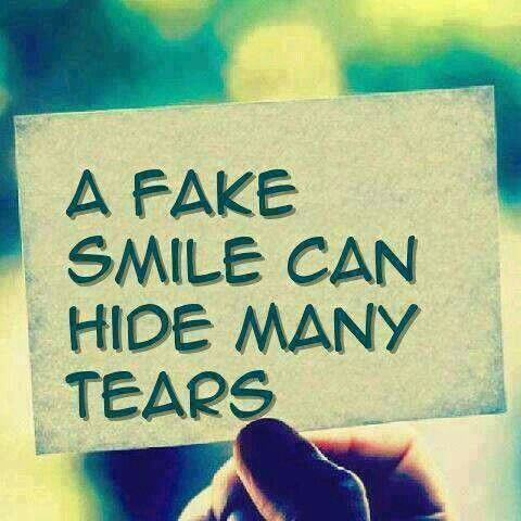 Quotes About Smiling Through Pain Smiling through...