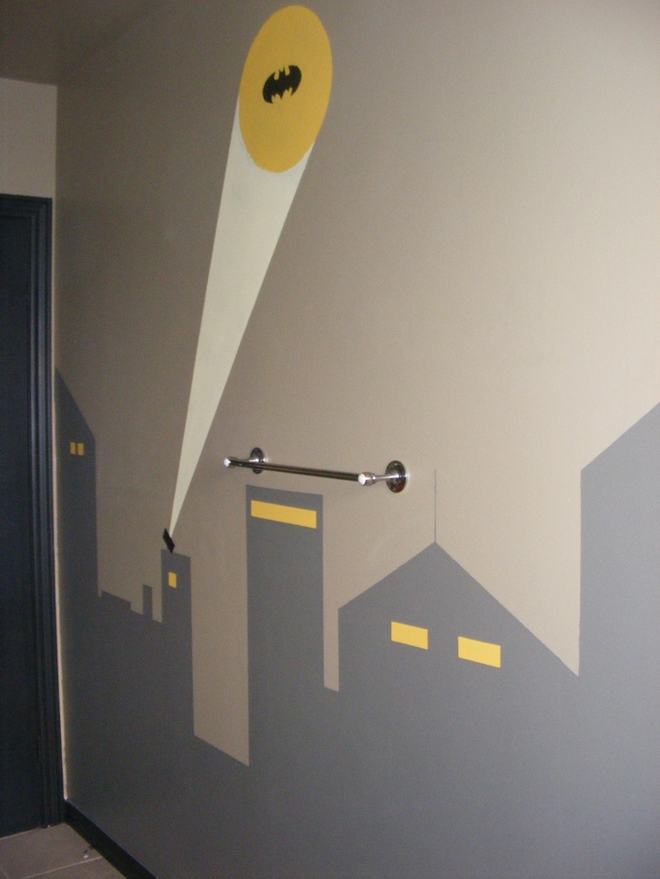 Superhero Neon Wall Lights : Pin by Nicole Stephen Kenney on boys new bathroom design Pinterest