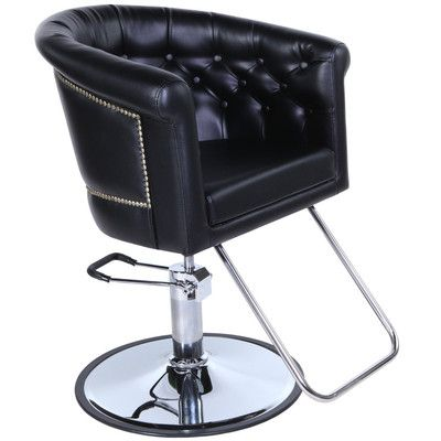 New beauty salon equipment black vintage hydraulic hair for Hydraulic chairs beauty salon