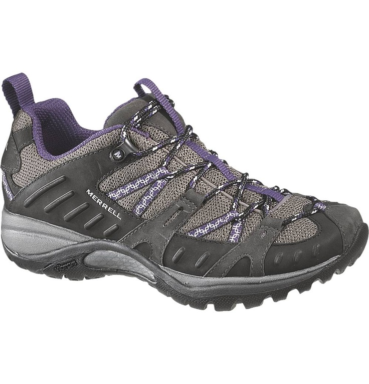 own these hiking/running shoes in grey/green. Awesome shoes! Can't
