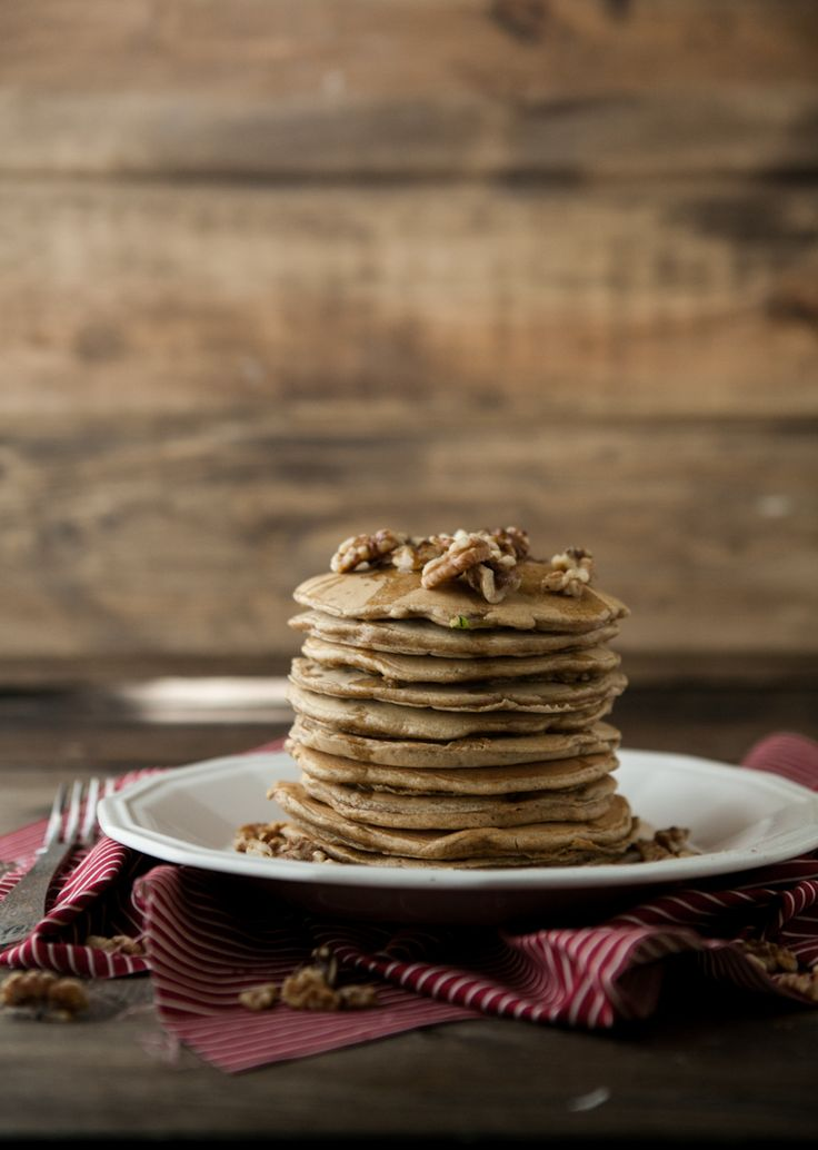 Zucchini Bread Pancakes | Naturally Ella