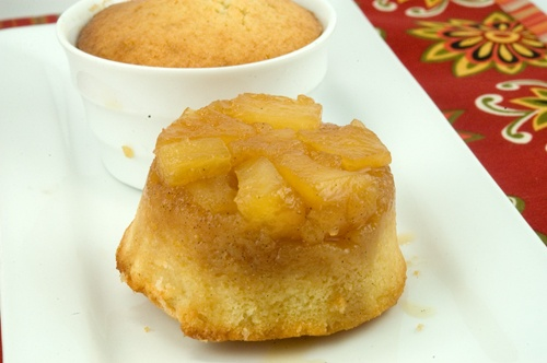 Rum Pineapple Upside Down Cakes | The Foodie Within | Pinterest