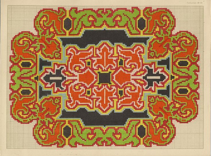Филейное вязание розочки