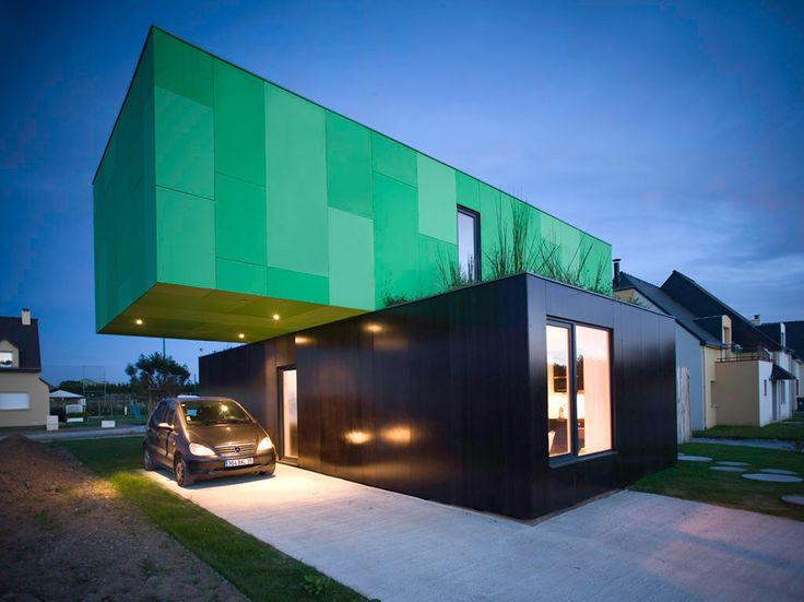 Shipping container home arq low cost pinterest for Maison low cost container