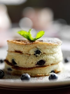 Whole Wheat Pancakes Lemon Poppy Seed Butter, Local Maple Syrup, Berry ...