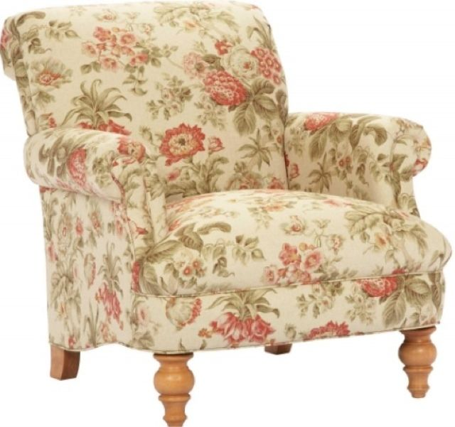 Chintz Armchair Floral Chair Furniture Pinterest