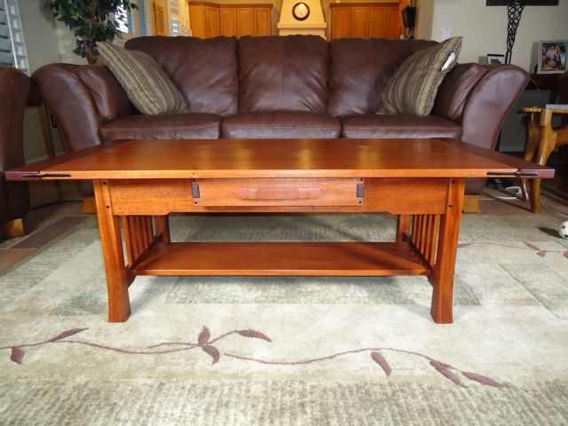 working on getting the plans for this greene and greene coffee table