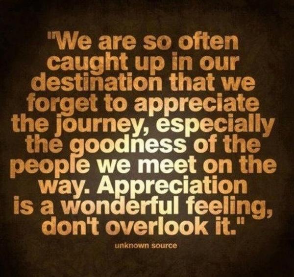 Appreciation & Gratitude